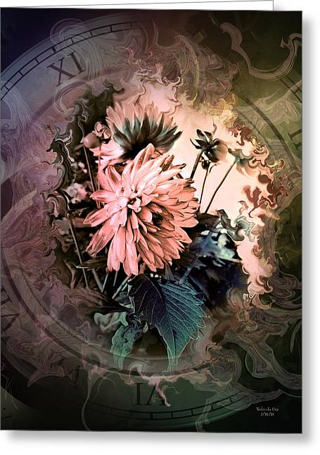 Timeless Dahlia Greeting Card