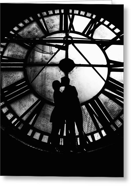Timeless Love - Black And White Greeting Card