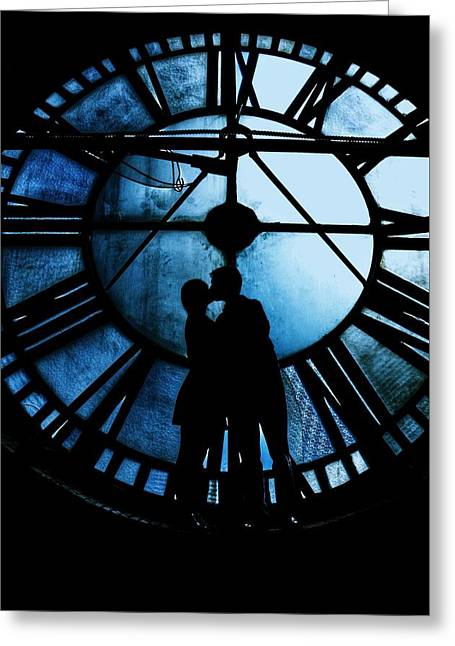 Timeless Love - Midnight Blue Greeting Card