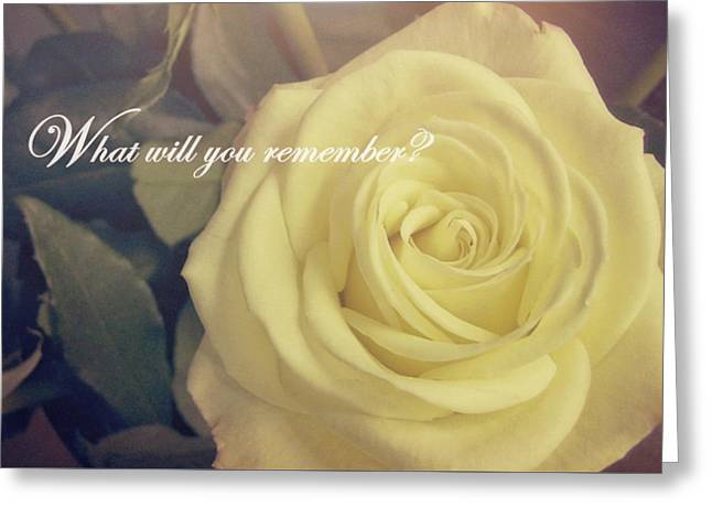 Timeless Quote Greeting Card by JAMART Photography
