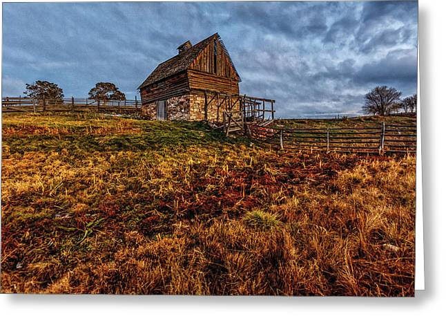 Timeless Rustic Barn  Greeting Card