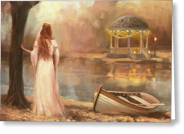 Greeting Card featuring the painting Timeless by Steve Henderson