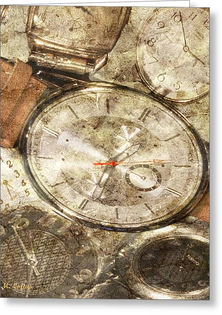 Timepieces Greeting Card