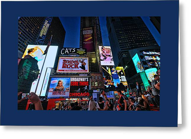 Times Square # 11 Greeting Card
