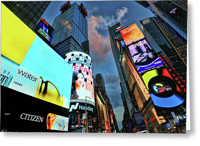 Times Square # 2 Greeting Card