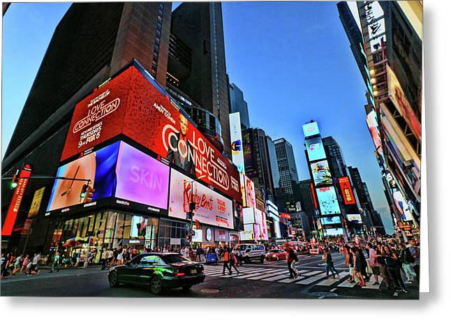 Times Square # 3 Greeting Card