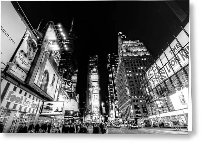 Times Square Don't Shine As Bright As You Greeting Card by Ariane Moshayedi