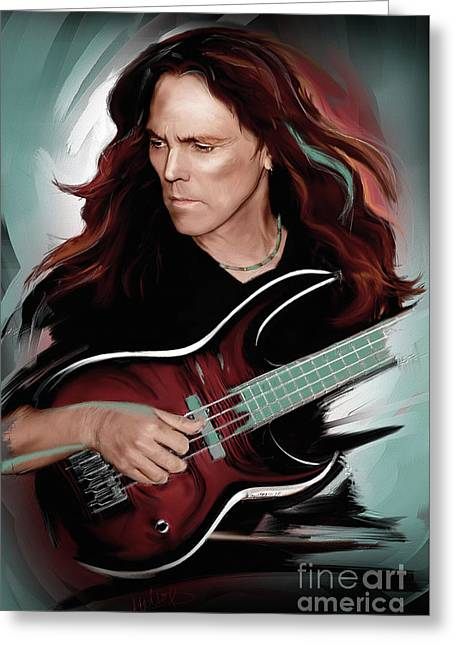 Timothy B. Schmit Greeting Card