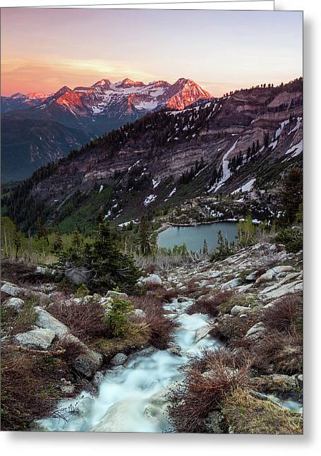 Timp From Silver Lake. Greeting Card