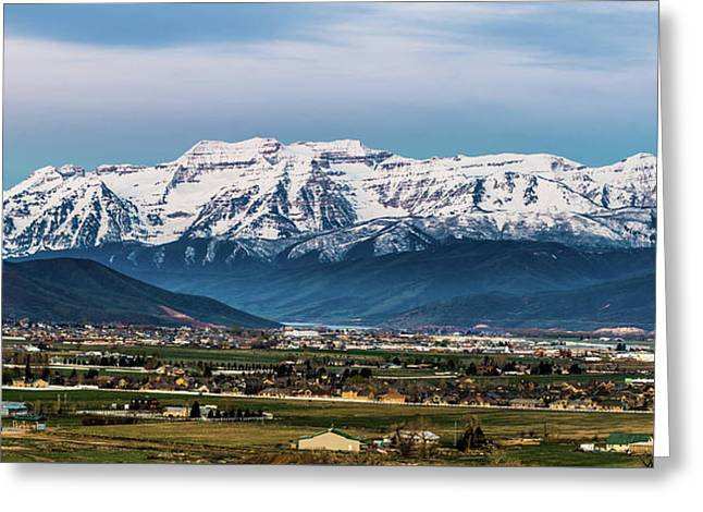 Timpanogos And The Heber Valley 2 Greeting Card
