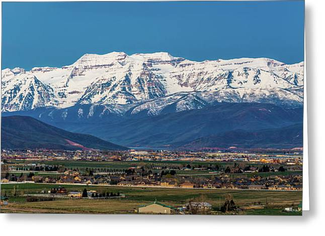 Timpanogos And The Heber Valley Greeting Card