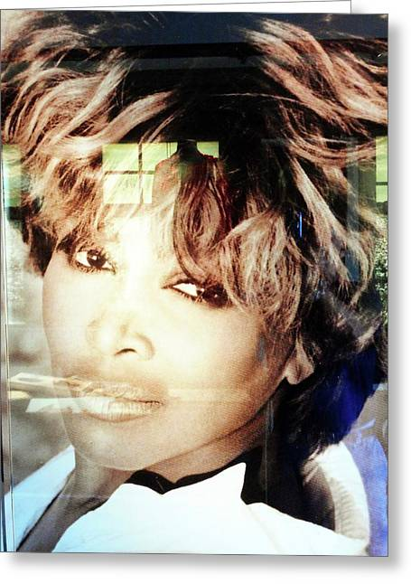 Tina Turner Museum 2 Greeting Card