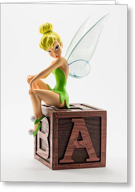 Tink Greeting Card by Greg Thiemeyer