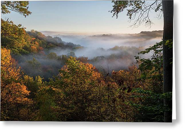 Tinkers Creek Gorge Overlook Greeting Card by Dale Kincaid