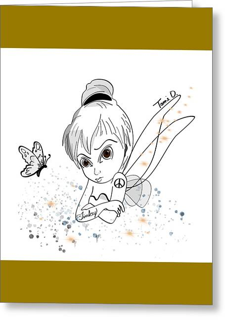 Tinky Greeting Card