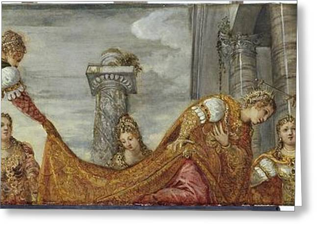 Tintoretto Greeting Card