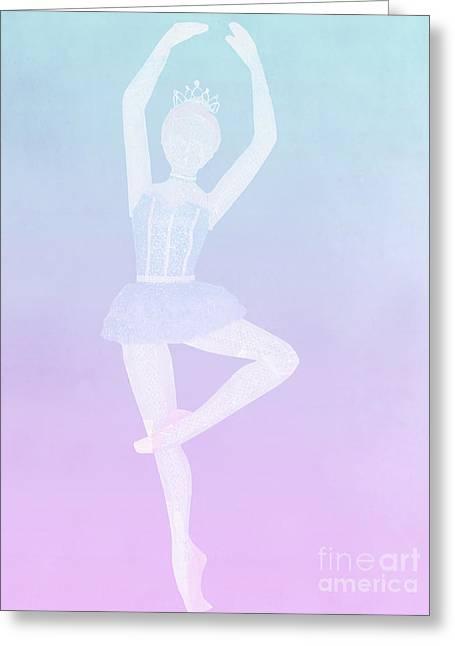 Tiny Dancer Ballerina Greeting Card