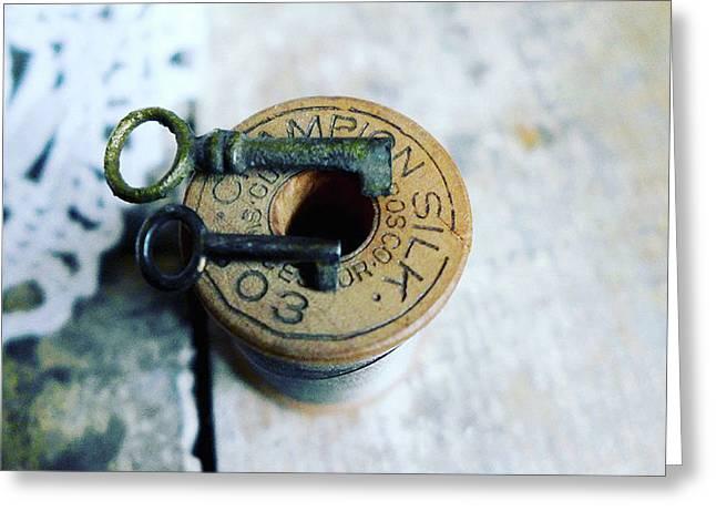 Tiny Keys Greeting Card