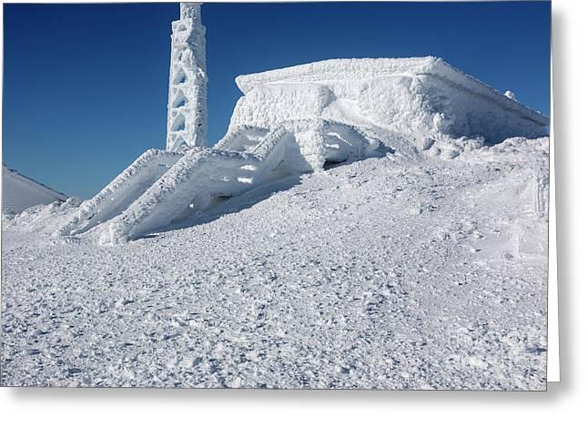 Tip Top House - Mount Washington New Hampshire  Greeting Card