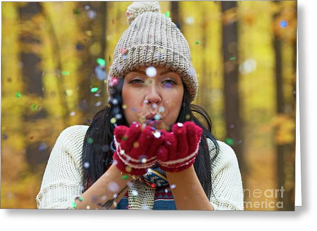 Greeting Card featuring the photograph Tis The Season.. by Nina Stavlund