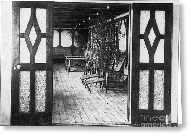 Titanic: Private Deck, 1912 Greeting Card
