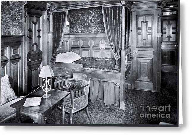 Titanic's First Class Stateroom B59 Greeting Card