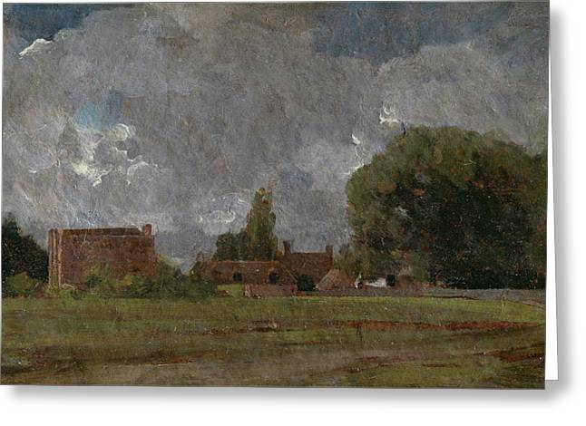 Title Golding Constable S House Greeting Card by John Constable