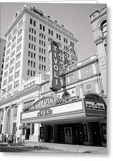 Tivoli Theater Greeting Card by Gregory Cook