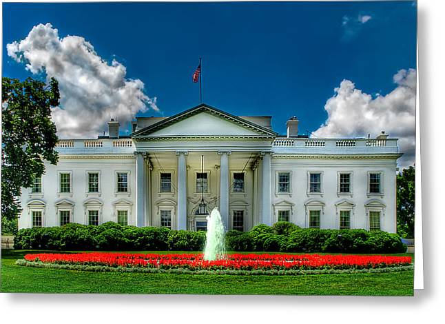 Tlhe White House Greeting Card