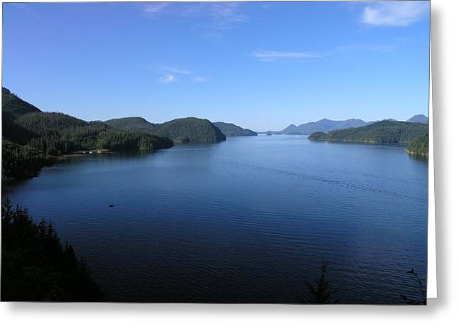 Tlupana Inlet #16 Greeting Card by Nootka Sound
