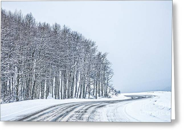 To Another Horizon Greeting Card by Evelina Kremsdorf