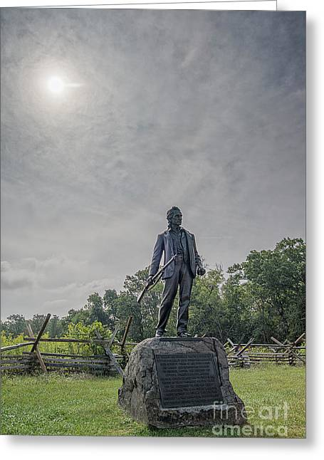 Greeting Card featuring the photograph To Arms by Craig Leaper