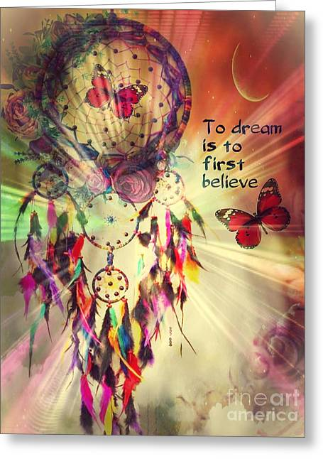 To Dream Greeting Card