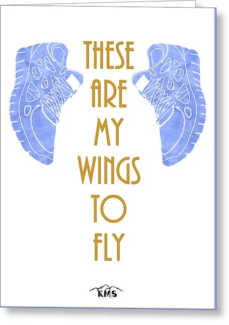 To Fly. Greeting Card by Keep Making Smiles