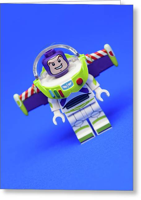 To Infinity And Beyond Greeting Card by Samuel Whitton