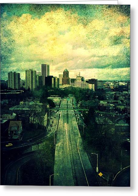 To The City Greeting Card