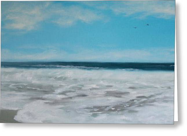 Print On Canvas Greeting Cards - To the Light Greeting Card by Mary Taglieri