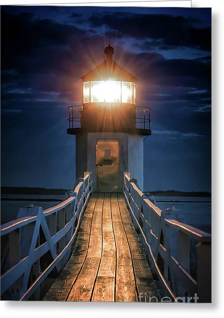 To The Light Greeting Card by Scott Thorp