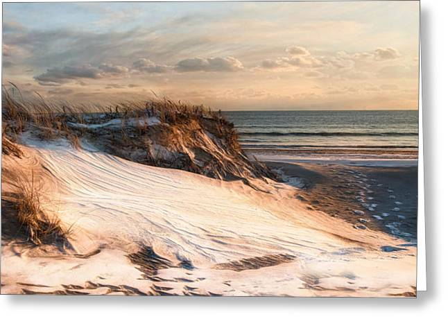 Greeting Card featuring the photograph To The Sea by Robin-lee Vieira