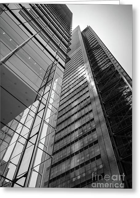To The Top   -27870-bw Greeting Card