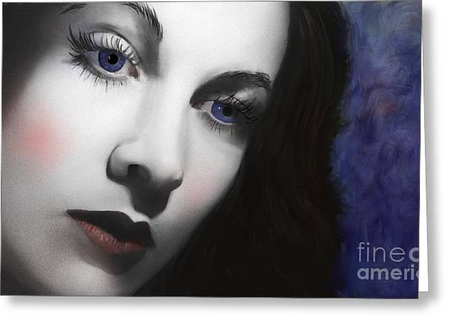 To Vivian Leigh Greeting Card by Sydne Archambault