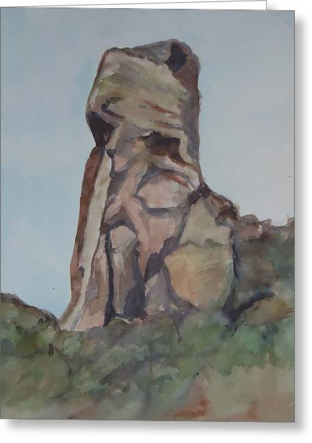 Toad Rock Greeting Card