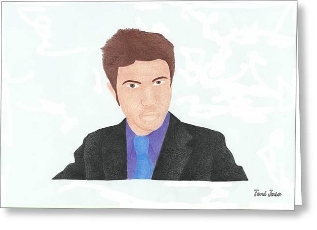 Tobuscus Greeting Card
