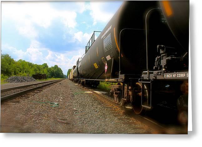 Tobyhanna Freight Train Greeting Card