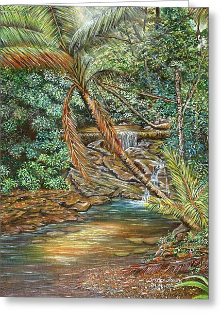Trister Hosang Greeting Cards - Toco Morning Greeting Card by Trister Hosang