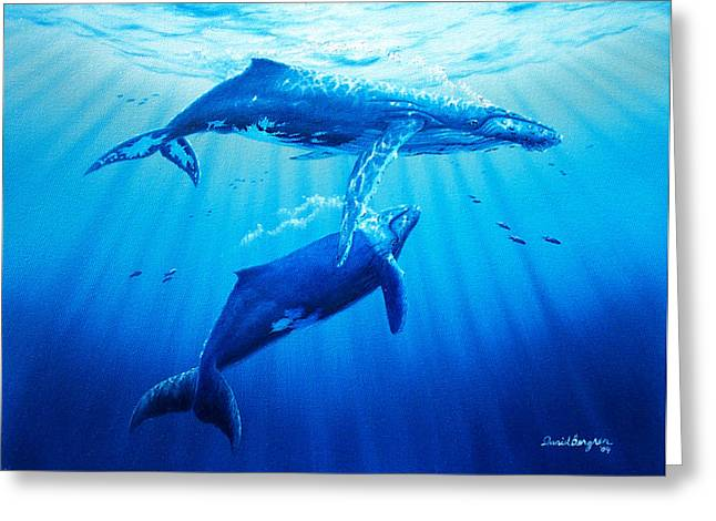 Together Greeting Card by Daniel Bergren