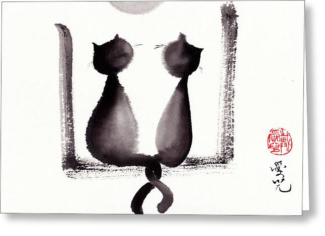 Together We'll Grow Old Greeting Card by Oiyee At Oystudio