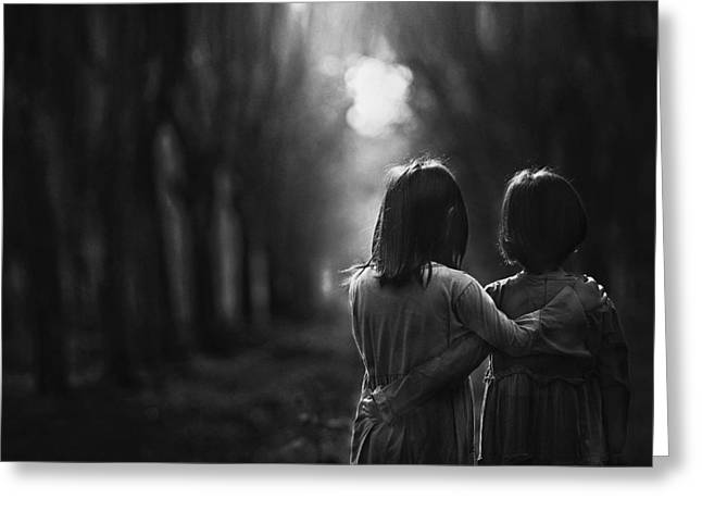 Togetherness Greeting Card by Dodyherawan
