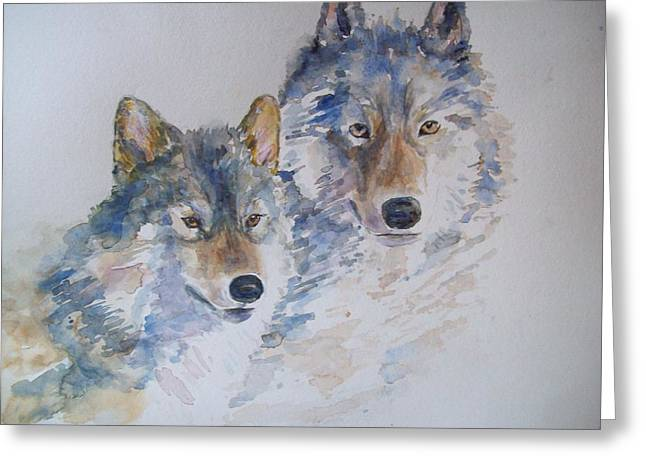 Togetherness Greeting Card by Susan Ryder