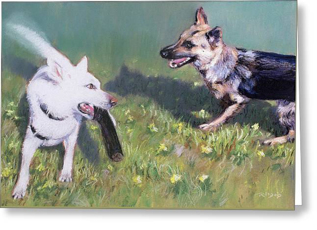 Togo And Friend Greeting Card